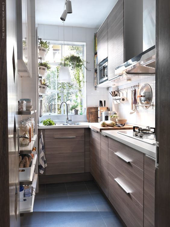 Decorate A Long Narrow Kitchen