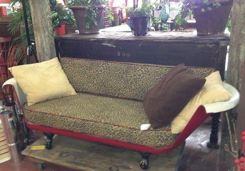 La vecchia vasca diventa divano! 20 esempi + VIDEO TUTORIAL