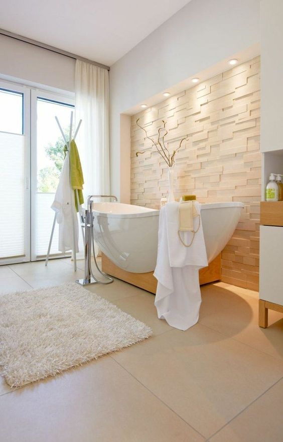 mettere in risalto la vasca da bagno! ecco 20 idee decorative ... - Luce Vasca Da Bagno