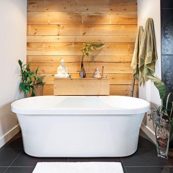 Mettere in risalto la vasca da bagno
