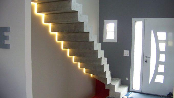 idee illuminazione scale con led 18