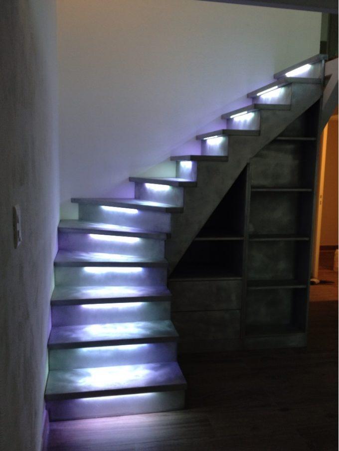 idee illuminazione scale con led 7