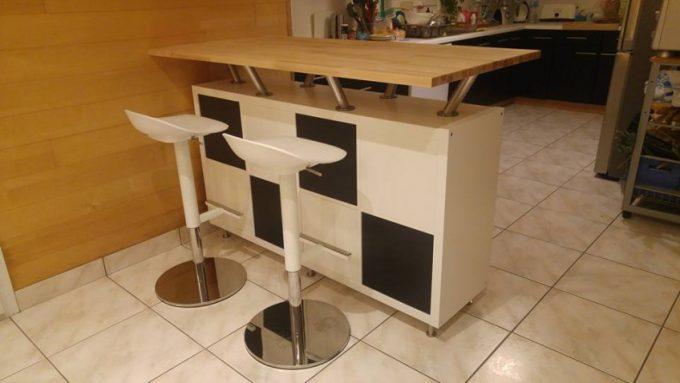 Trasformare uno scaffale IKEA isola cucina