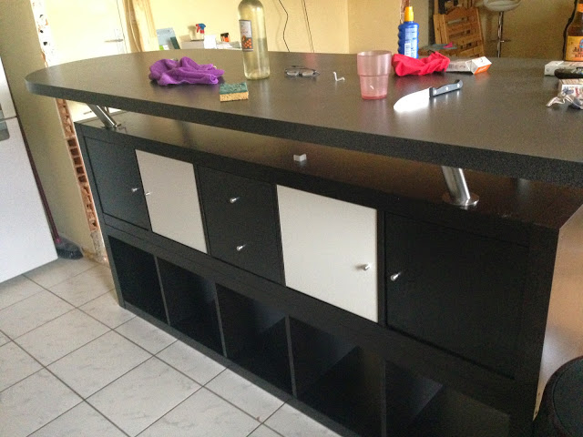 idee scaffali IKEA isola cucina 12
