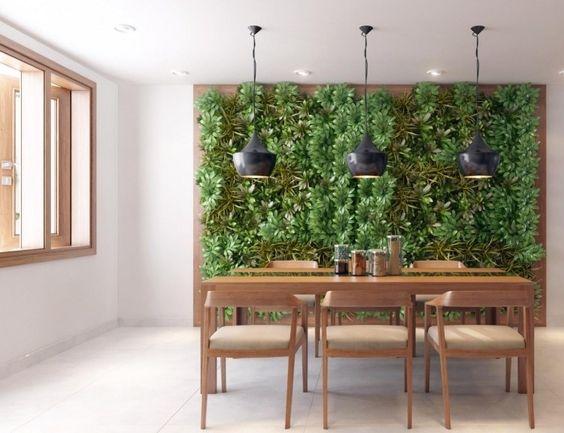 creare una parete vegetale per decorare casa! 20 idee per ... - Decorare Soggiorno Fai Da Te 2