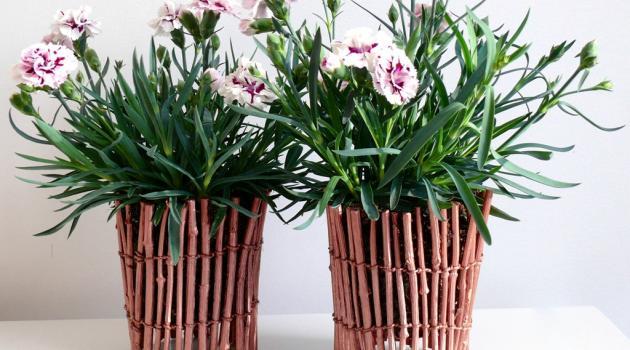 vaso fai da te legno 14