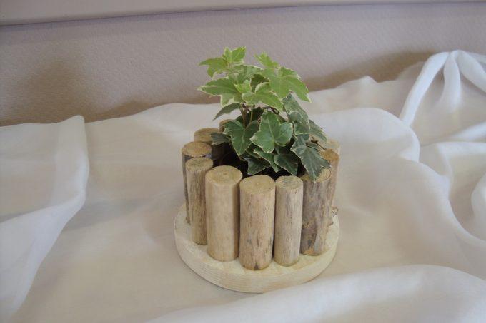 vaso fai da te legno 16