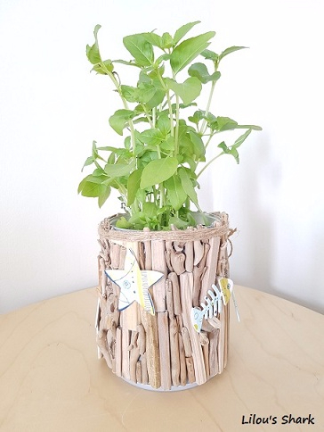 vaso fai da te legno 19
