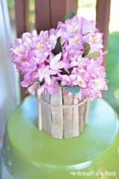 vaso fai da te legno 2