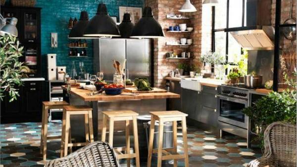 Ispirazione cucina stile bistrot