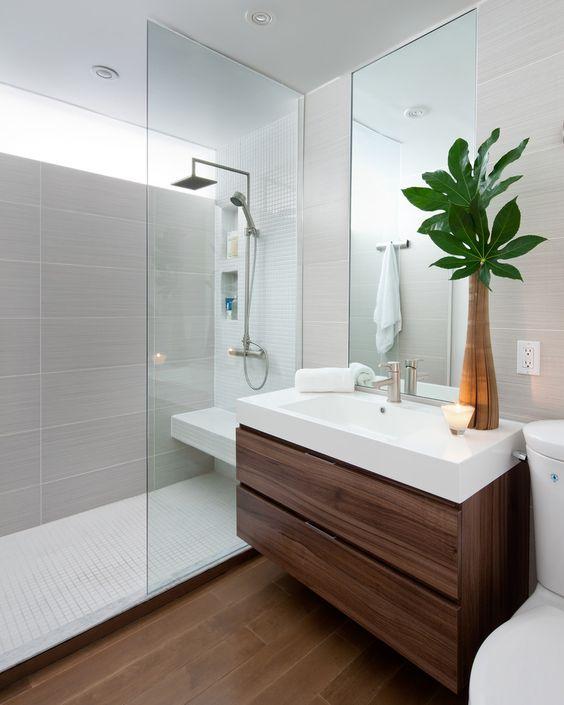 Decorare il bagno con le piante! Ecco 20 idee da cui trarre ...