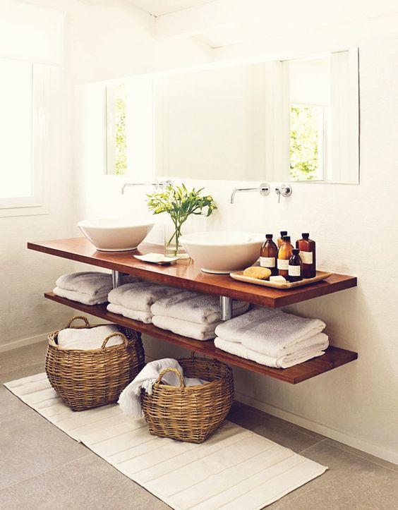 Decorare il bagno con le piante ecco 20 idee da cui trarre ispirazione - Decorazione bagno ...