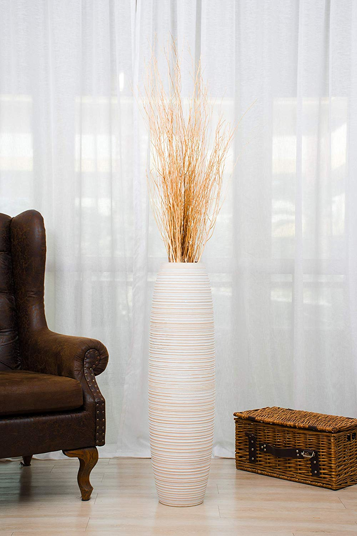 Vaso design in legno di mango, bellissimo per decorare casa con stile.