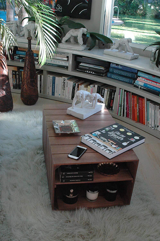 Tavolino in pallet originale ideale per il salotto.