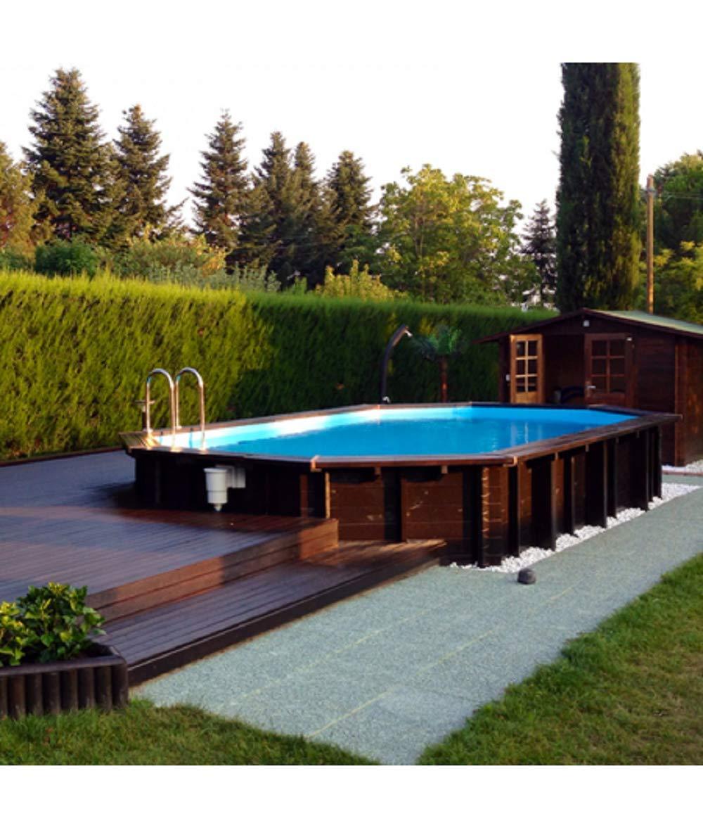 Piscine Da Esterno Rivestite In Legno come abbellire piscine fuori terra o seminterrate! ecco 20