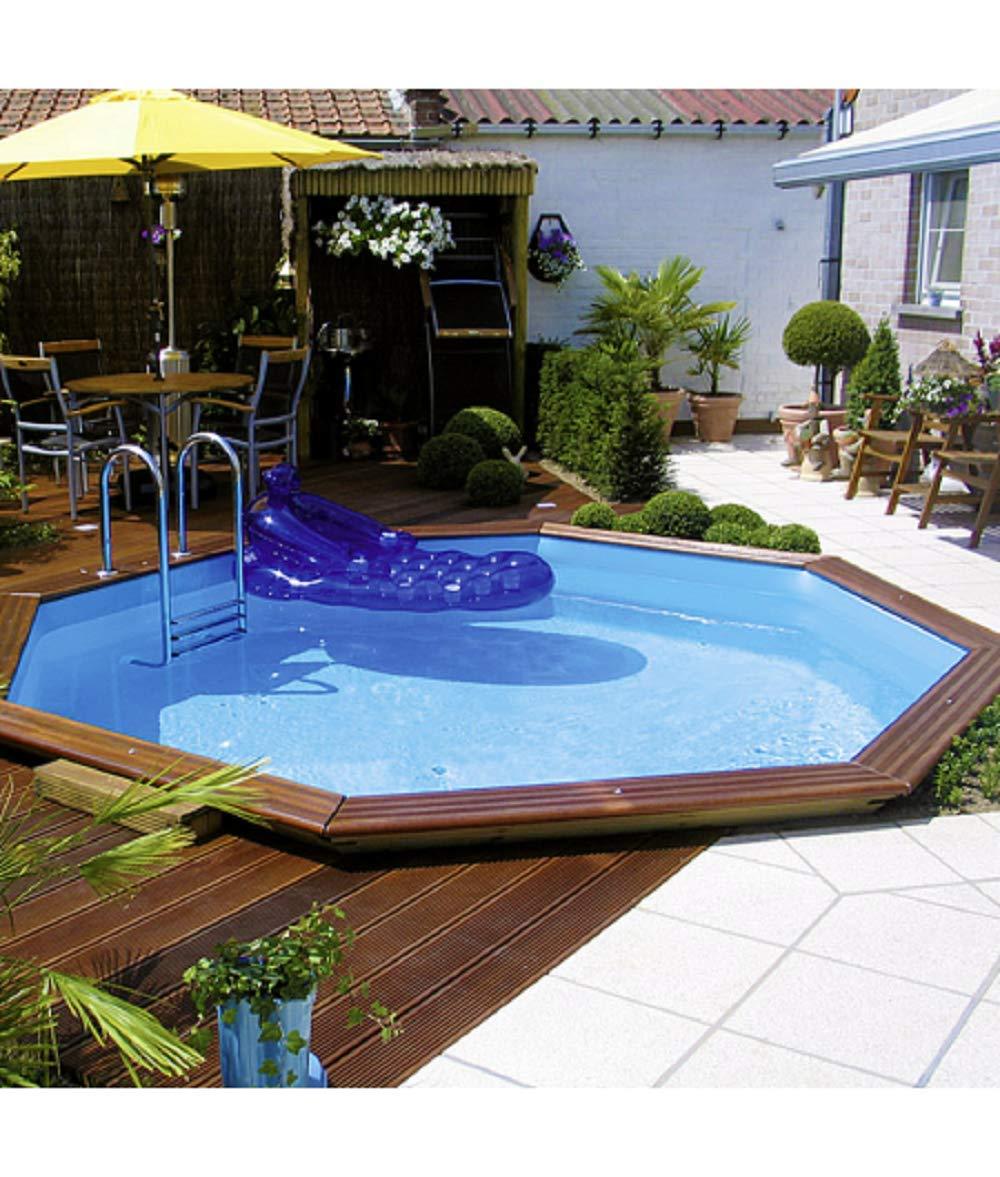Piscina Su Terreno In Pendenza come abbellire piscine fuori terra o seminterrate! ecco 20